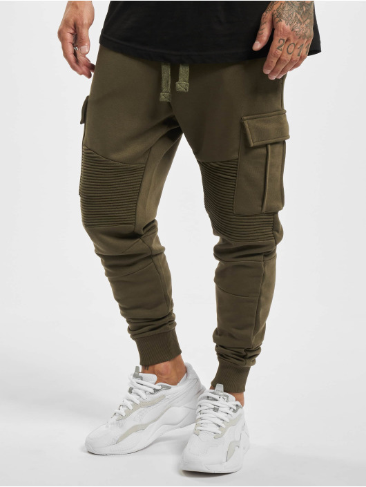 VSCT Clubwear Spodnie do joggingu Caleb khaki