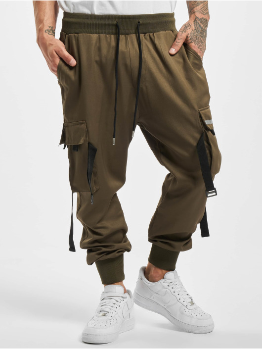 VSCT Clubwear Spodnie do joggingu Combat khaki