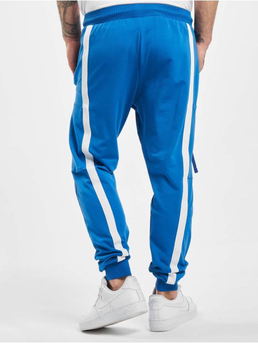 VSCT Clubwear Spodnie do joggingu 4-Stripe niebieski