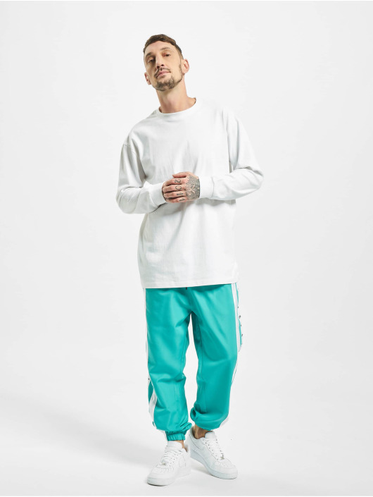 VSCT Clubwear Spodnie do joggingu MC Nylon Striped turkusowy