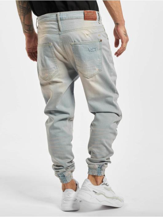 VSCT Clubwear Straight Fit Jeans Noah Cuffed blå