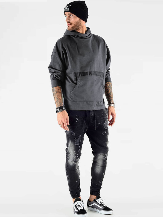 VSCT Clubwear Sudadera Hooded Bulky gris