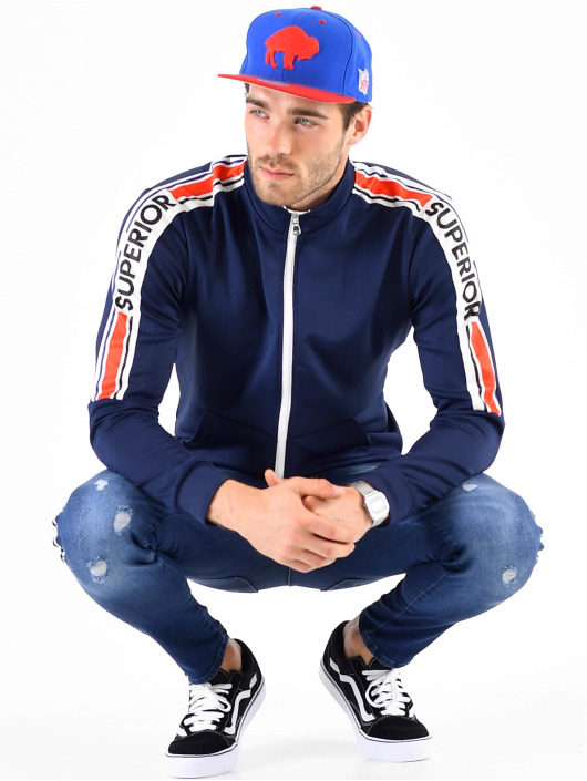 VSCT Clubwear Sudaderas con cremallera Superior azul