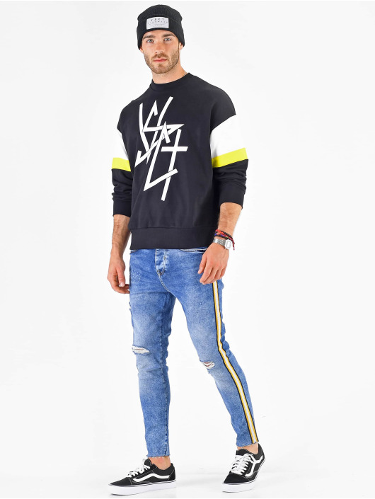 VSCT Clubwear Svetry Coach Retro Crew modrý
