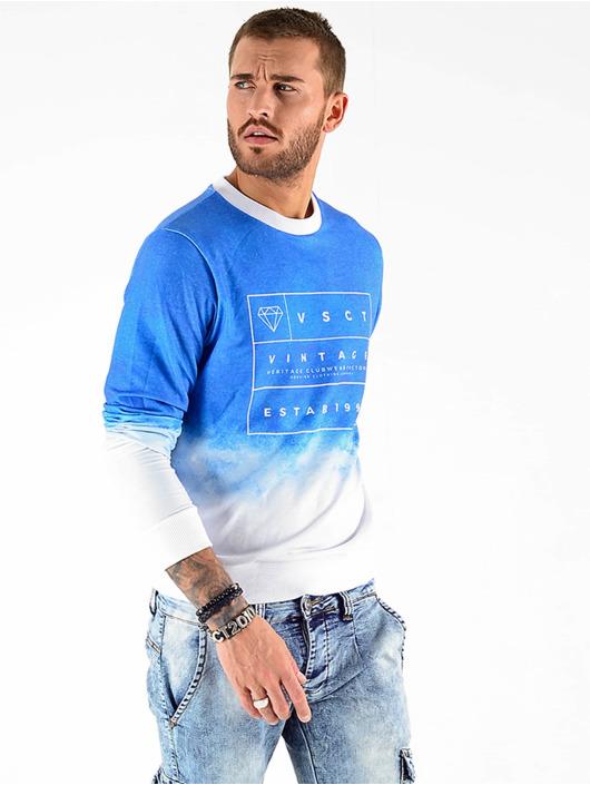 VSCT Clubwear Svetry Logo Crew modrý