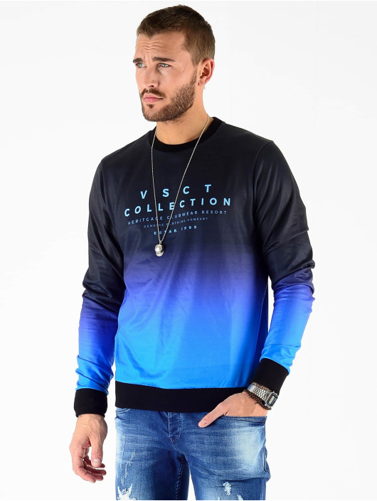 VSCT Clubwear Svetry Graded Crew modrý