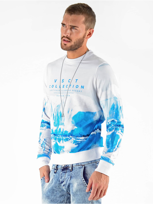 VSCT Clubwear Sweat & Pull Antarctica Crew blanc