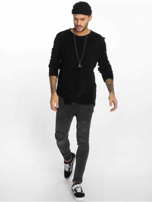 VSCT Clubwear Sweat & Pull Raw Cut noir