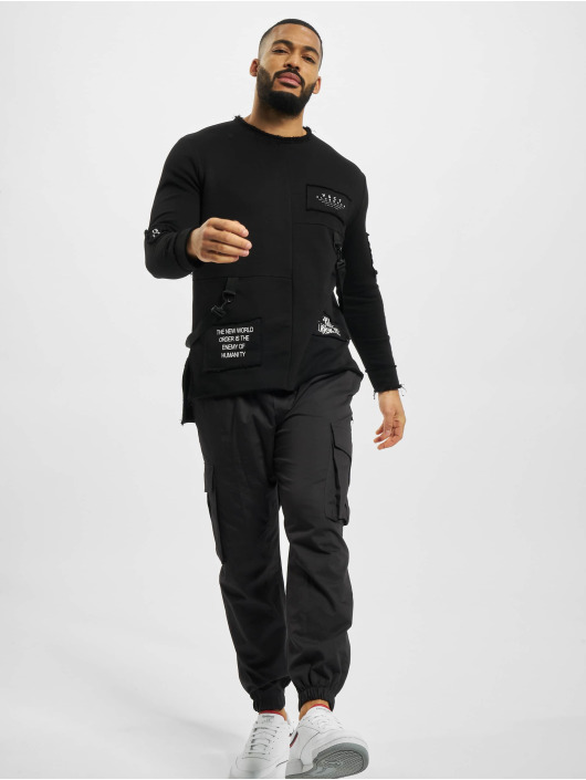 VSCT Clubwear Sweat & Pull Tape-Patches noir