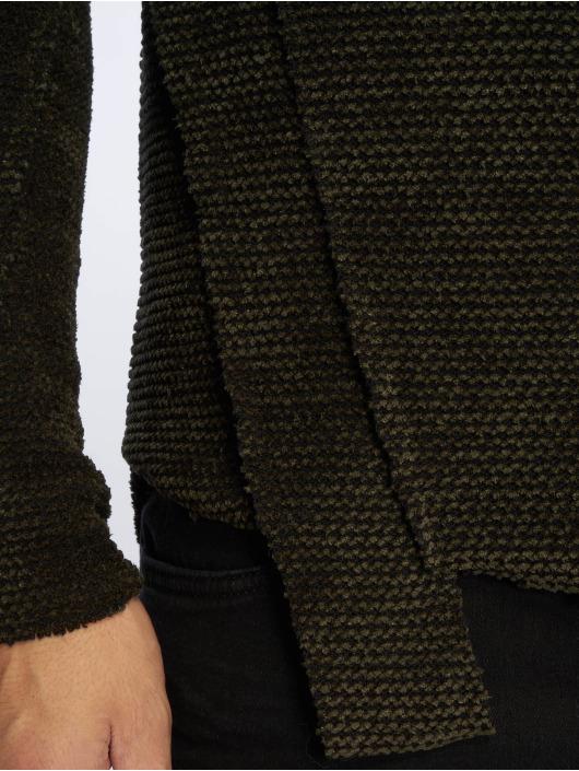 Vsct Pull 596351 Sweatamp; Clubwear Cut Raw Homme Vert UVSzGqMp