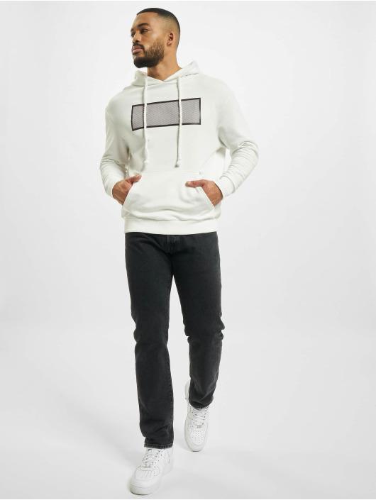 VSCT Clubwear Sweat capuche Net Application blanc