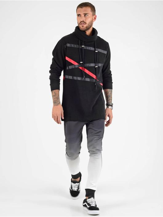 VSCT Clubwear Sweat capuche Tape noir