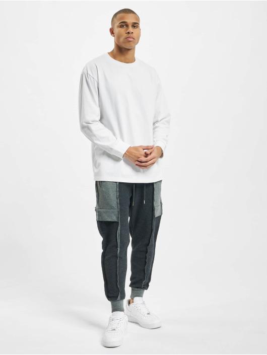 VSCT Clubwear Sweat Pant Lowcrotch Cut To Edge gray