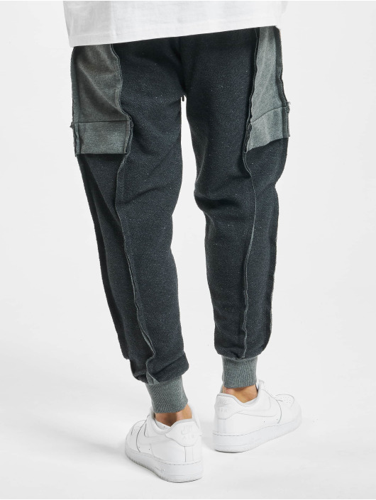 VSCT Clubwear Sweat Pant Lowcrotch Cut To Edge grey