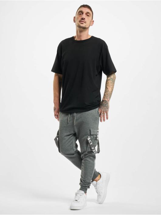 VSCT Clubwear Sweat Pant Cargo Logo Tape grey