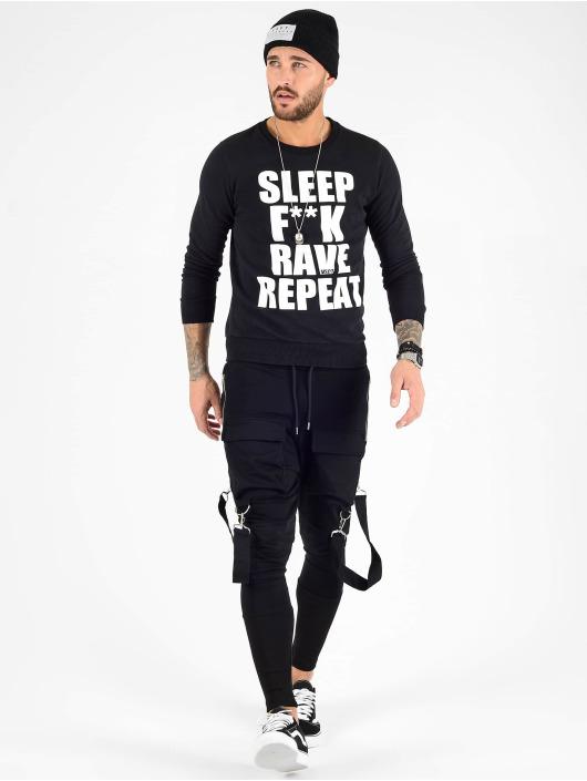 VSCT Clubwear Swetry Sleep F**k ... czarny