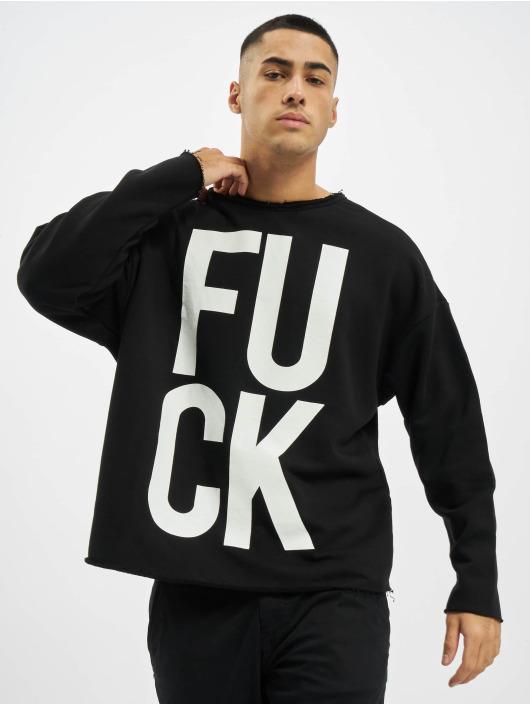 VSCT Clubwear Swetry F*ck czarny