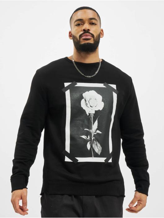 VSCT Clubwear Swetry Roses & Tape czarny