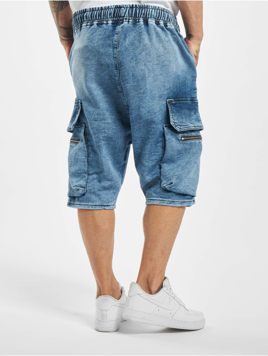 VSCT Clubwear Szorty Logan Cargo niebieski