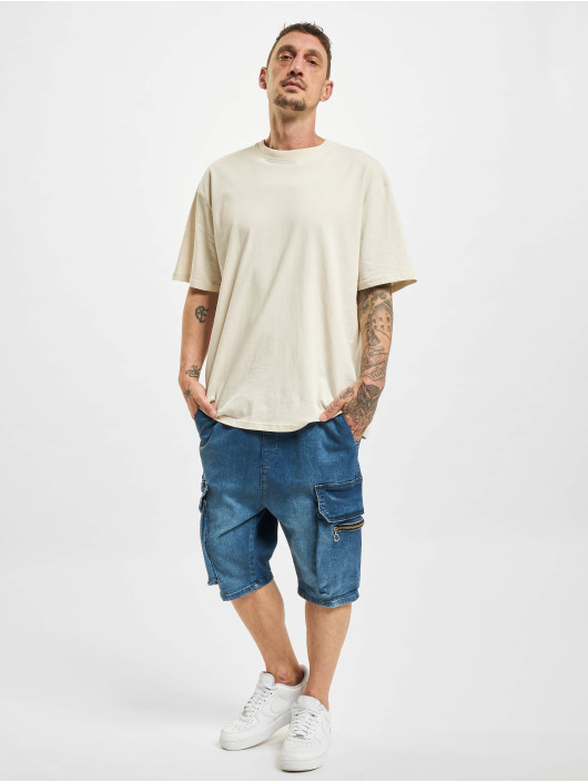 VSCT Clubwear Szorty Logan Denim niebieski