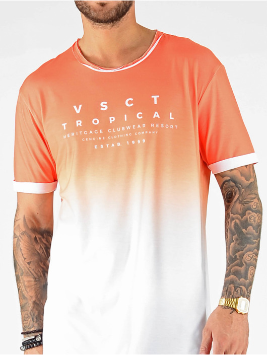 VSCT Clubwear T-shirt Graded Logo Cuja Mara apelsin