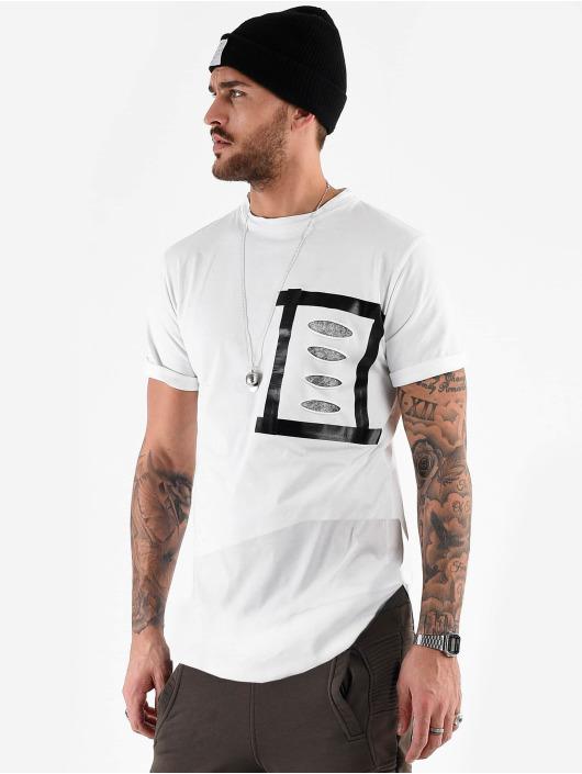 VSCT Clubwear T-shirt Tape Design Art Dept. bianco