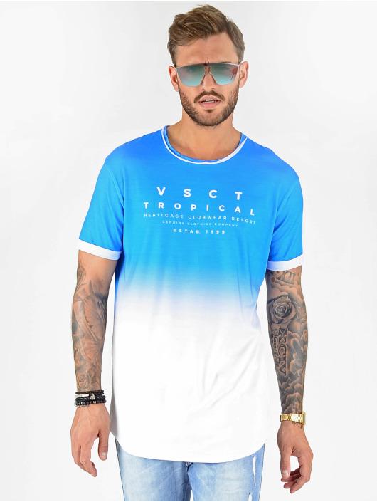 VSCT Clubwear T-shirt Graded Logo Sky Cloud blå