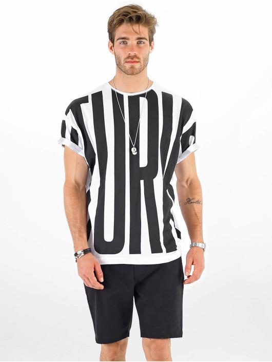 VSCT Clubwear T-Shirt Letter Logo Turn blanc