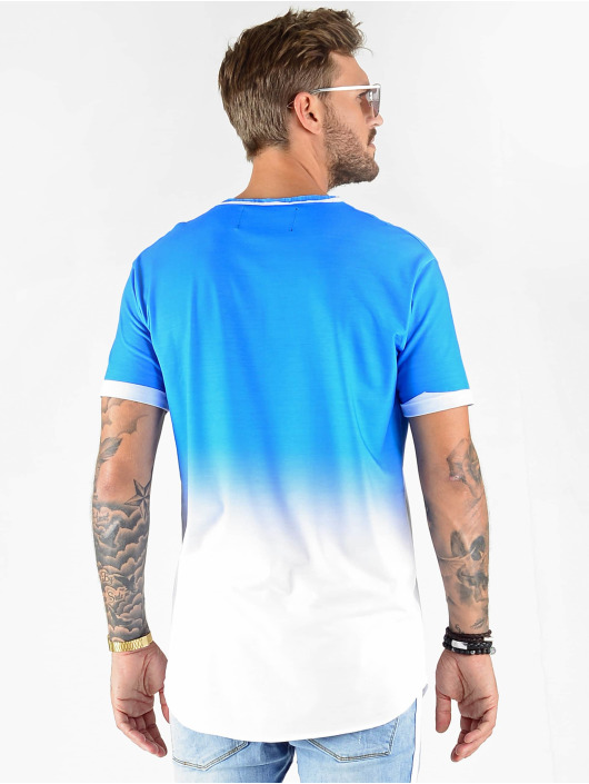 VSCT Clubwear T-Shirt Graded Logo Sky Cloud blau