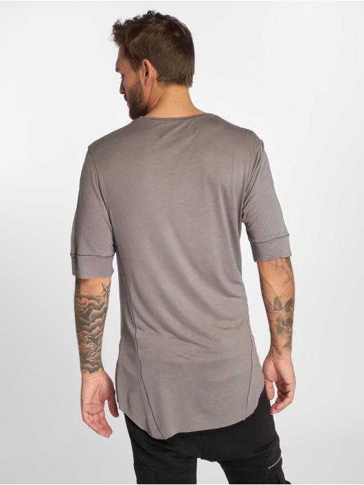 VSCT Clubwear T-Shirt 1/2 Cut Collar grey
