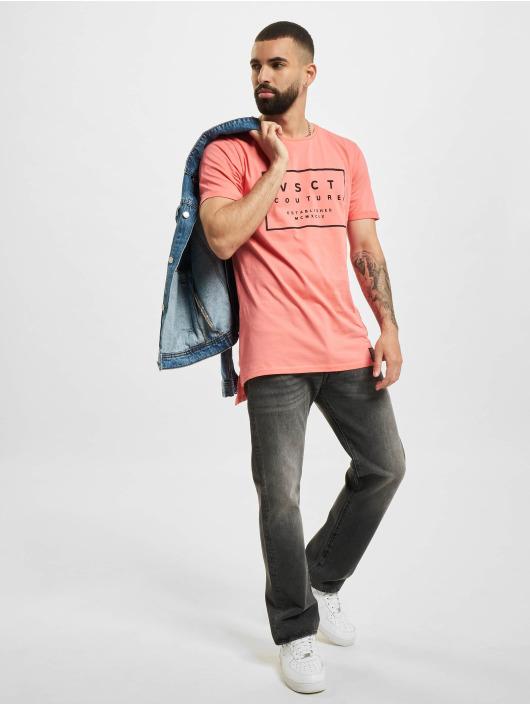 VSCT Clubwear T-Shirt Logo Believe Back magenta