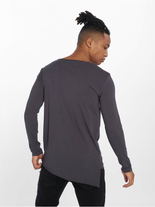 VSCT Clubwear T-Shirt manches longues Basicx gris