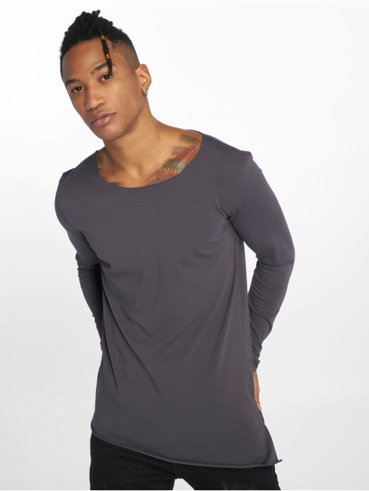 VSCT Clubwear T-Shirt manches longues Basicx gris
