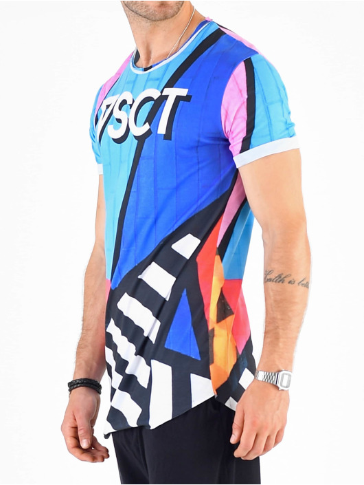 VSCT Clubwear T-Shirt Graphix Wall Logo multicolore
