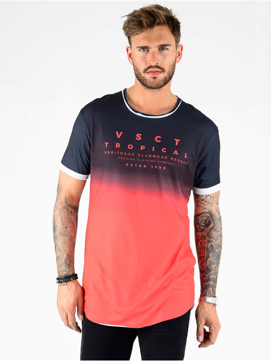 VSCT Clubwear T-shirt Graded Logo Basalt Lava nero