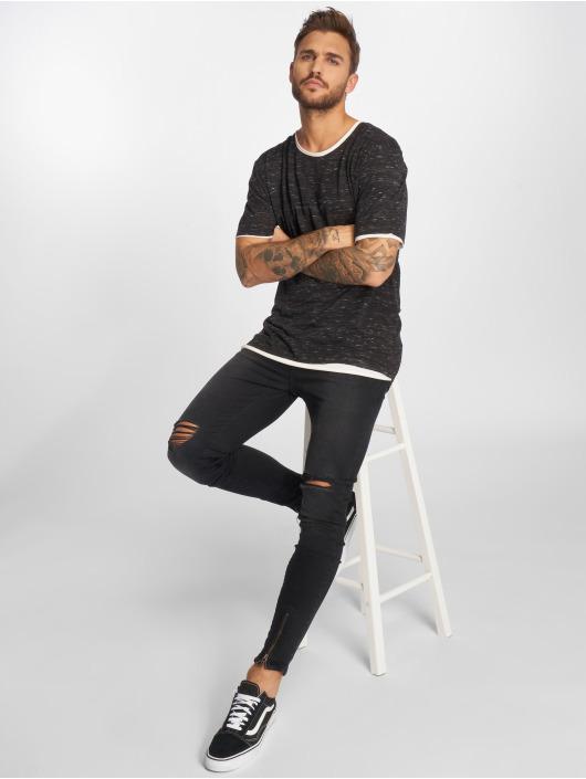 VSCT Clubwear T-Shirt 2 on 1 noir