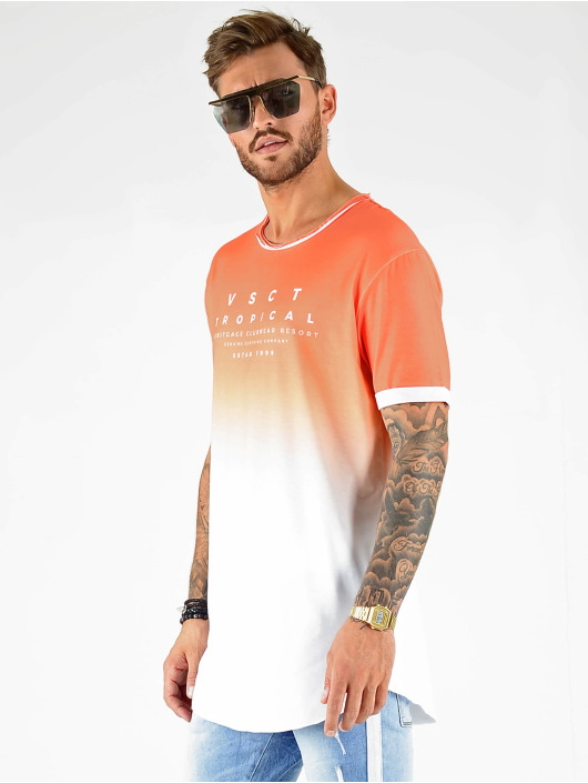 VSCT Clubwear T-Shirt Graded Logo Cuja Mara orange