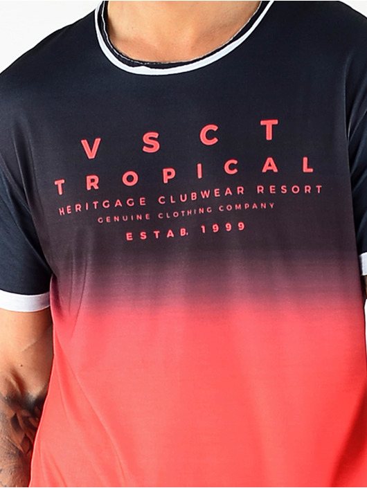 VSCT Clubwear T-shirt Graded Logo Basalt Lava svart