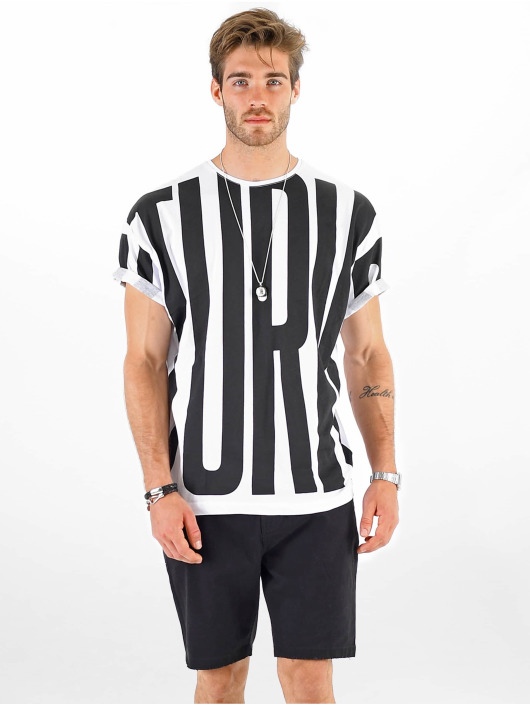 VSCT Clubwear T-shirt Letter Logo Turn vit