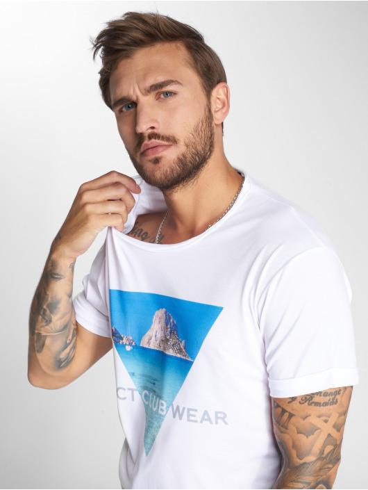 VSCT Clubwear T-Shirt Ibiza Logo Oversize weiß