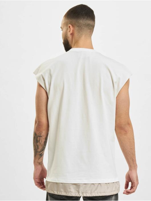 VSCT Clubwear T-Shirt 2 In 1 Eye Oversize weiß
