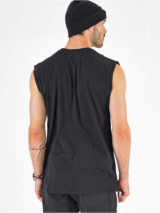 VSCT Clubwear t-shirt Sleep F**k Rave Sleeveless zwart