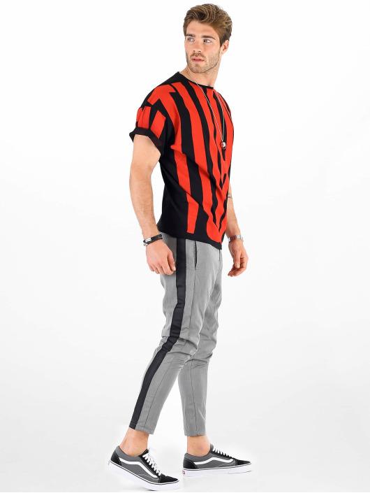 VSCT Clubwear t-shirt Letter Logo Turn zwart