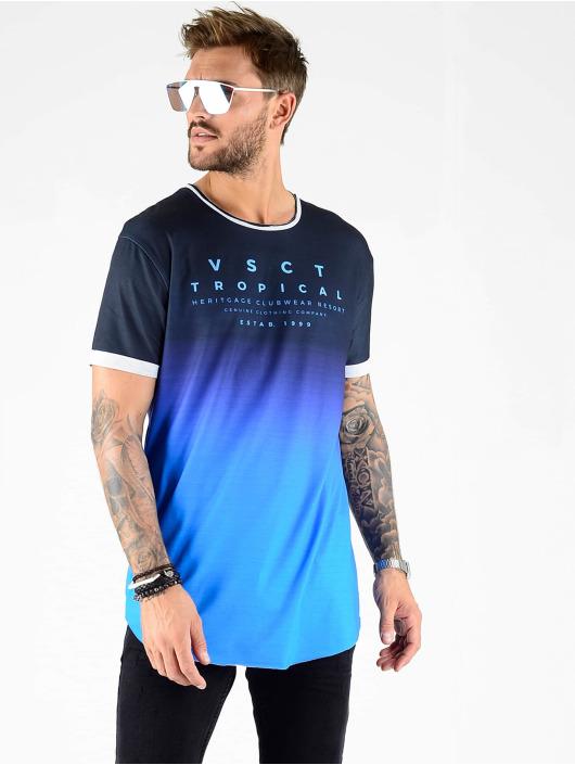 VSCT Clubwear t-shirt Graded Logo Basalt Ocean zwart