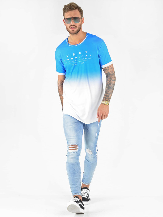VSCT Clubwear T-shirts Graded Logo Sky Cloud blå