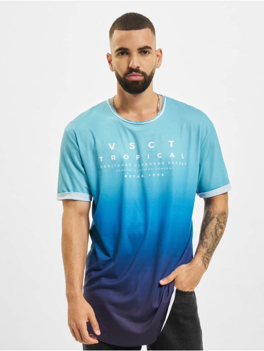 VSCT Clubwear T-shirts Graded Logo Ocean Blues blå