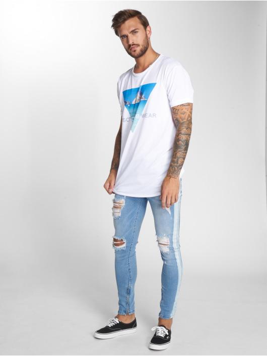 VSCT Clubwear T-Shirty Ibiza Logo Oversize bialy