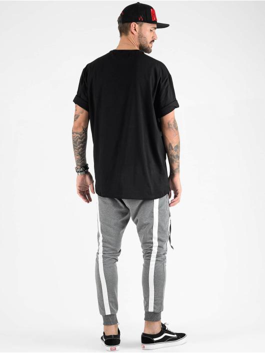 VSCT Clubwear T-Shirty Tape Bulky czarny