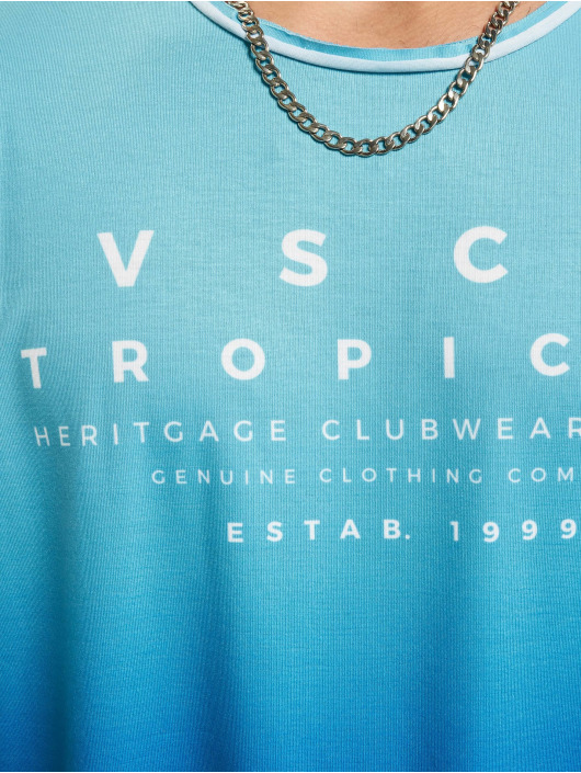 VSCT Clubwear T-Shirty Graded Logo Ocean Blues niebieski