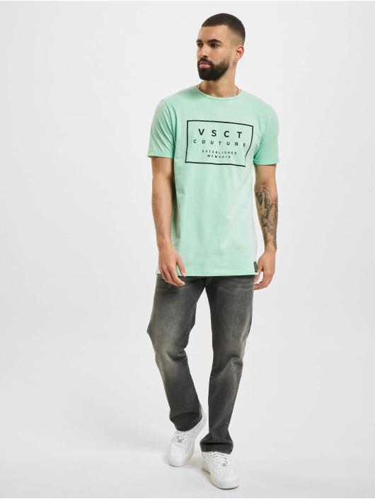 VSCT Clubwear T-Shirty Logo Believe Back zielony